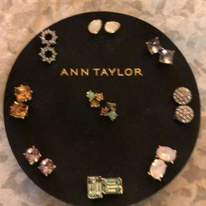 NWT Set of 9 post earrings from Ann Taylor